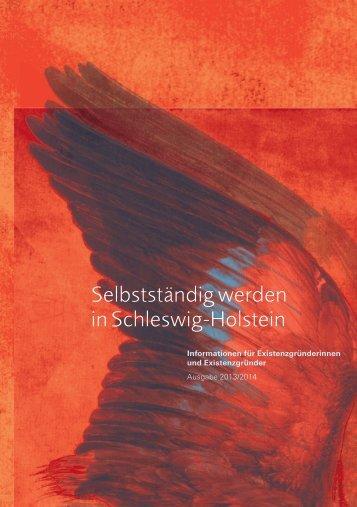 Selbstständig werden in Schleswig-Holstein - Bundesagentur für ...