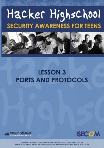 Lesson 03 - Ports and Protocols - Hacker Highschool