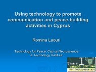 Presentation Slides - Economists for Peace & Security