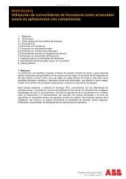 Nota técnica Utilización de convertidores de frecuencia ... - Info PLC