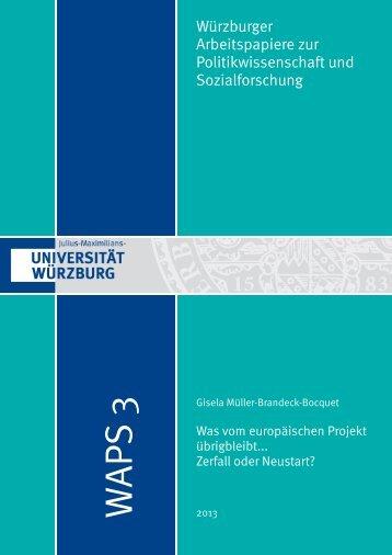 Dokument_1.pdf (603 KB) - OPUS Würzburg - Universität Würzburg