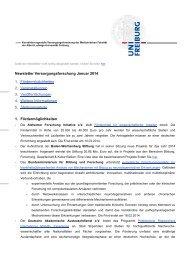 Betreff-Zeile: Times New Roman, 13pt - Albert-Ludwigs-Universität ...