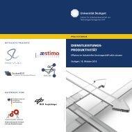 Praxisforum Dienstleistungsproduktivität - Referat für ...