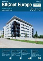 PDF: BACnet Europe Journal 19 - 10/13