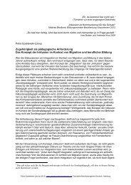 Inklusion - Fachstelle Berufsbezogenes Deutsch