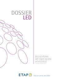 Dossier LED − (1 Mb) - ETAP Lighting