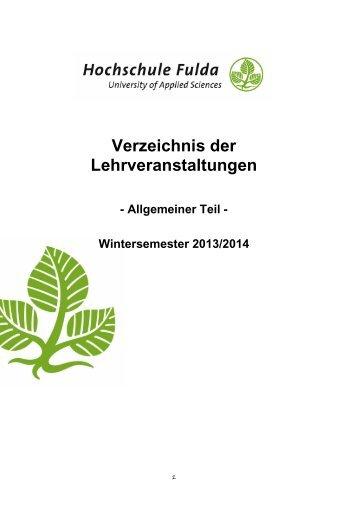 V - Hochschule Fulda