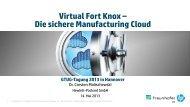 Virtual Fort Knox – Die sichere Manufacturing Cloud - GTUG