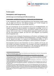 Anforderungen an die Gestaltung der EU-Binnenwanderung