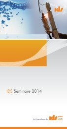 Seminarbroschüre 2014 - IDS Schweiz AG