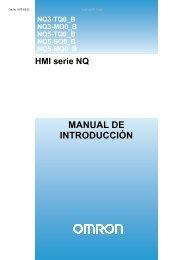HMI serie NQ MANUAL DE INTRODUCCIÓN - Info PLC
