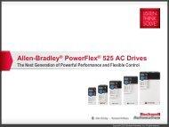 PowerFlex 70 with MicroLogix1100 on Modbus - Info PLC
