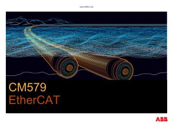CM579 EtherCAT - Info PLC