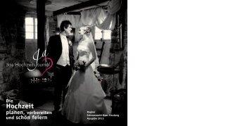 Hochzeitsjournal 2013