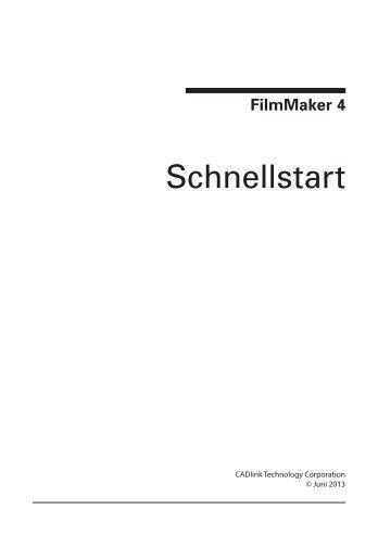 Handbuch FilmMaker Software