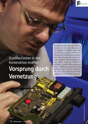 Vorsprung durch Vernetzung - mmh software GmbH