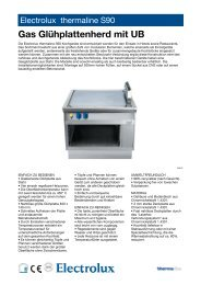 Electrolux thermaline S90