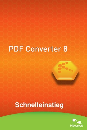 PDF Converter 8 - Nuance