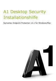 A1 Desktop Security Installationshilfe - A1.net