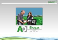AO Biogas online als Cloudversion - Land-Data Eurosoft GmbH ...