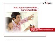 Infor ERP Xpert User Group