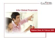 Infor Global Financials