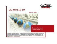 Infor PM auf SAP Application Studio Office Plus als optimale ...