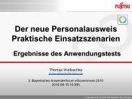 Personalausweis - INFORA Tagungsplaner