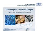 IT-Planungsrat – erste Erfahrungen - INFORA Tagungsplaner