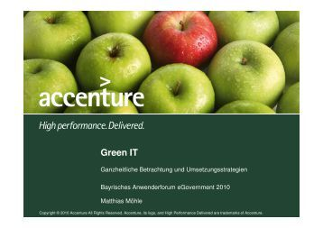 Green IT - INFORA Tagungsplaner