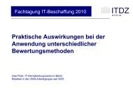 Fachtagung IT-Beschaffung 2010 - INFORA Tagungsplaner