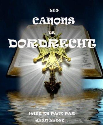 Les Canons de Dordrecht.