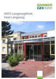 AWO LangeoogKlinik - Langeoog ( PDF , 357 KB ) - Barmer GEK