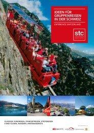 Gruppenreisen - STC Switzerland Travel Centre AG