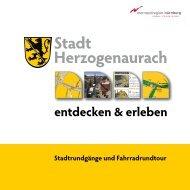 Broschüre Stadtrundgänge - Stadt Herzogenaurach