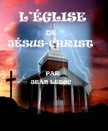 L'Église de Jésus-Christ.