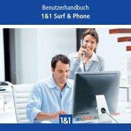 Benutzerhandbuch 1&1 Surf & Phone - 1&1 Hilfe Center - 1&1 ...