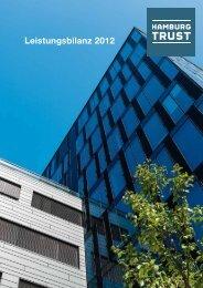 Leistungsbilanz 2012 - Hamburg Trust