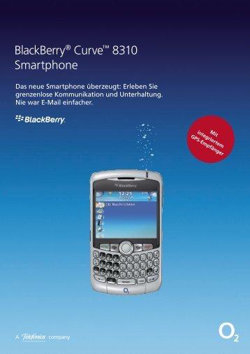 BlackBerry® Curve™ 8310 Smartphone