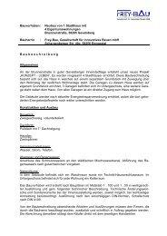 PDF Baubeschreibung - frey-bau gesellschaft für innovatives bauen ...