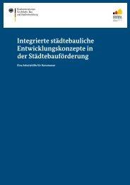 Integrierte städtebauliche Entwicklungskonzepte in der ...