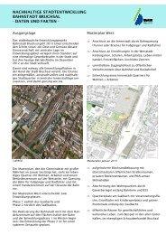 Infoblatt Masterplan - Bruchsal