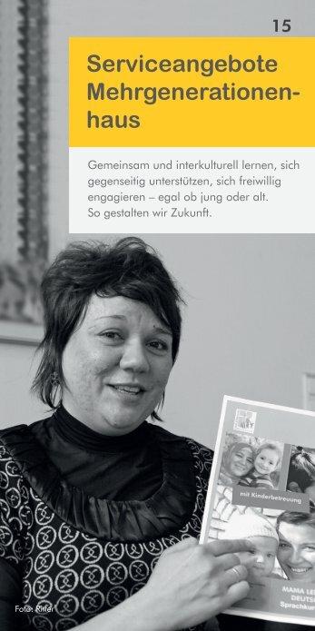 Mehrgenerationenhaus, Familienservice, Flohmarkt - FBS Bayreuth