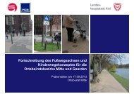 Achsenentwurf Mitte - Landeshauptstadt Kiel