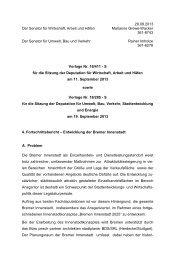 4. Fortschrittsbericht – Entwicklung der Bremer Innenstadt (pdf, 8.7 ...
