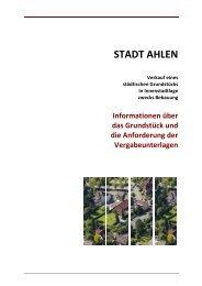 hier - der Stadt Ahlen