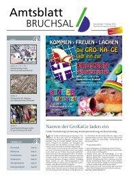 Amtsblatt KW 06/2013 - Bruchsal