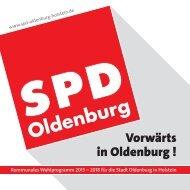 Kommunales Wahlprogramm 2013 – 2018 für die Stadt Oldenburg ...