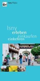 Isnyer Einkaufsführer - in Isny im Allgäu