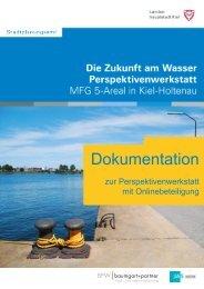 Dokumentation der Perspektivenwerkstatt - Landeshauptstadt Kiel